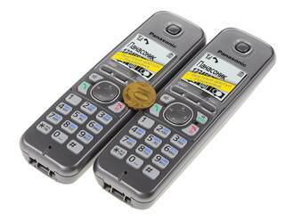 Телефон беспроводной (DECT) Panasonic KX-TG6712RUM