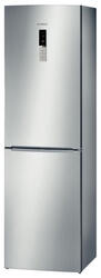 Холодильник с морозильником BOSCH KGN39AI15 серебристый