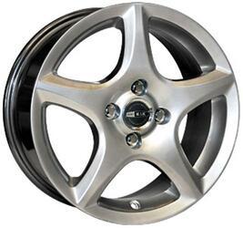Автомобильный диск Литой K&K Софтлайн-Нова 6,5x15 5/108 ET 45 DIA 67,1 Блэк платинум