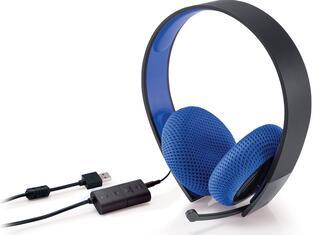 Гарнитура проводная Sony Silver Wired Headset Black