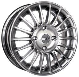 Автомобильный диск Литой K&K Турнео 6,5x15 4/114,3 ET 43 DIA 67,1 Сильвер