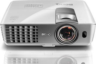 Проектор BenQ W1080ST+ белый