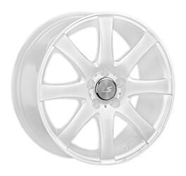 Автомобильный диск Литой LS NG461 6x15 4/100 ET 43 DIA 73,1 White