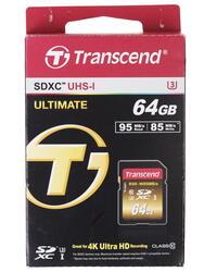 Карта памяти Transcend SDXC 64 Гб