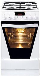 Газовая плита Hansa FCMW57002030 белый, черный