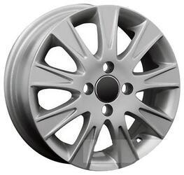 Автомобильный диск Литой Replay GN12 5,5x14 4/100 ET 49 DIA 56,5 Sil