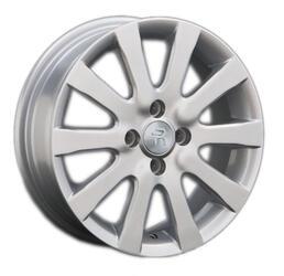 Автомобильный диск литой Replay Ki58 6x15 4/100 ET 48 DIA 54,1 Sil
