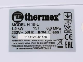 Водонагреватель Thermex H 15 U