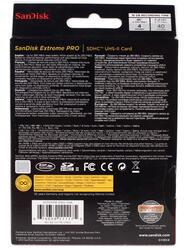 Карта памяти SanDisk Extreme Pro SDSDXPB-016G-G46 SDHC 16 Гб
