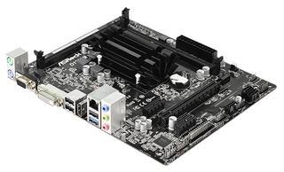 Плата Asrock D1800M CPU Atom integrated nA DDR3 mATX AC`97 6ch(5.1) GbLAN SATA2 VGA+DVI+HDMI+USB3.0