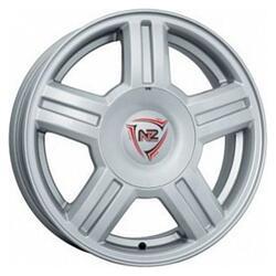 Автомобильный диск Литой NZ SH653 6x14 4/98 ET 35 DIA 58,6 Sil