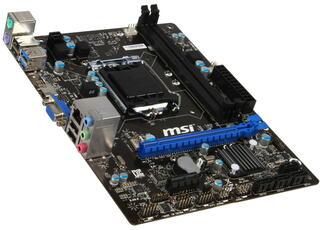 Плата MSI B85M-E33 Socket-1150 Intel B85 DDR3 mATX AC`97 8ch(7.1) GbLAN SATA3 VGA+HDMI