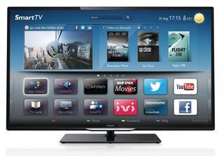 "32"" (81 см)  LED-телевизор Philips 32PFL4268T черный"