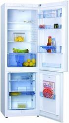 Холодильник с морозильником Hansa FK295.4 белый