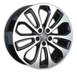 Автомобильный диск литой Replay HND124 7x18 5/114,3 ET 35 DIA 67,1 BKF