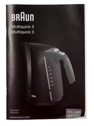 Электрочайник Braun Multiquick 3 WK 300 черный