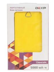 Портативный аккумулятор DEXP Camarade желтый, черный
