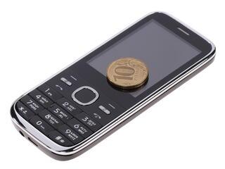 Сотовый телефон Vertex S101 черный