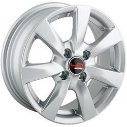 Автомобильный диск Литой LegeArtis RN84 5,5x14 4/100 ET 43 DIA 60,1 Sil
