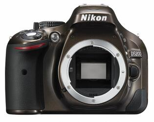 Зеркальная камера Nikon D5200 Kit 18-55mm VR II коричневый
