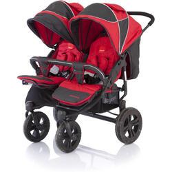 Коляска прогулочная Baby Care Cruze Duo красный