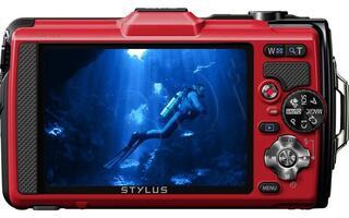 Компактная камера Olympus TG-2 red