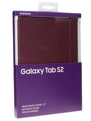 Чехол-книжка для планшета Samsung Galaxy Tab S2 9.7 бордовый
