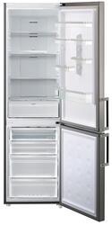 Холодильник с морозильником Samsung RL60GEGIH серебристый