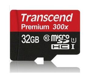 Карта памяти Transcend Premium microSDHC 32 Гб