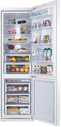 Холодильник Samsung RL55TTE1L Белое стекло