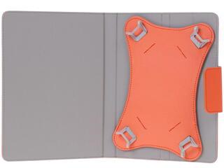 """Чехол-книжка для планшета универсальный 8""""  оранжевый"""