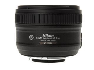 Объектив Nikon AF-S 50mm F1.8 G Nikkor