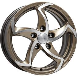 Автомобильный диск Литой K&K Ландау 6,5x15 5/114,3 ET 40 DIA 67,1 Алмаз брасс