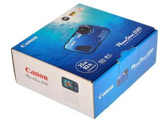 Компактная камера Canon PowerShot D30 голубой