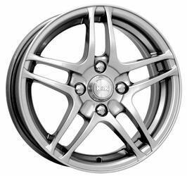 Автомобильный диск Литой K&K Италика 5,5x14 4/98 ET 38 DIA 58,5 Блэк платинум