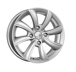 Автомобильный диск литой K&K Бриз 6x15 4/114,3 ET 40 DIA 66,1 Блэк платинум