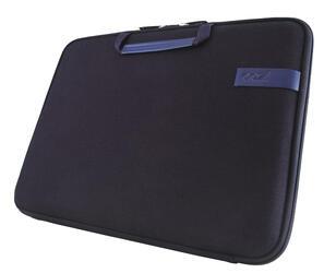"""13"""" Чехол Cozistyle Smart Sleeve для MacBook Pro/Retina, Air и ультрабуков, с охлаждением, хлопок/кожа, темно-синий"""