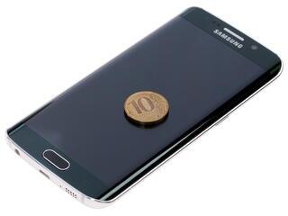 """5.1"""" Смартфон Samsung SM-G925 Galaxy S6 Edge 128 ГБ зеленый"""