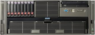Proliant DL585R2 O8218 Dual Core 2P (2xOpteron2.6GhzDC-2x1mb/4x1Gb/no SFFHDD(8)/RAID P400wBBWC(512Mb)/2xGigEth MF/DVD-CDRW, noFDD/iLO2 Std/2xRPS)