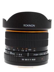 ROKINON MF 8mm F/3.5 Aspherical IF Fisheye APS-C для Sony