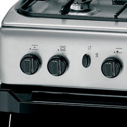 Газовая плита Indesit KN3G2107 X серебристый
