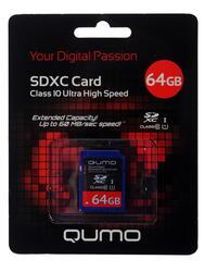 Карта памяти QUMO SDXC 64 Гб