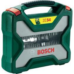 Универсальный набор оснастки Bosch X-Line 54 + уровень PLL 5