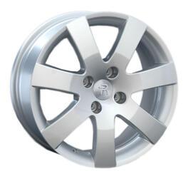 Автомобильный диск литой Replay PG21 7x16 4/108 ET 43 DIA 57,1 Sil
