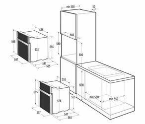 Электрический духовой шкаф Gorenje BO 8746 BB