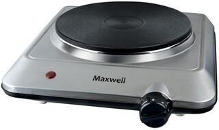 Плитка электрическая Maxwell MW-1905 серебристый