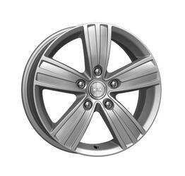 Автомобильный диск литой K&K да Винчи 6,5x16 5/105 ET 39 DIA 56,6 Блэк платинум