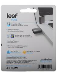 Память USB Flash Leef Fuse Charcoal 32 Гб