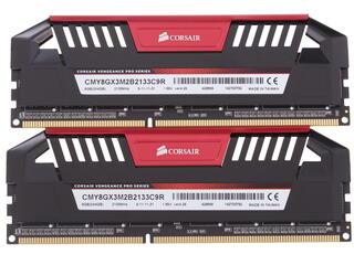 Оперативная память Corsair Vengeance Pro [CMY8GX3M2B2133C9R] 8 ГБ