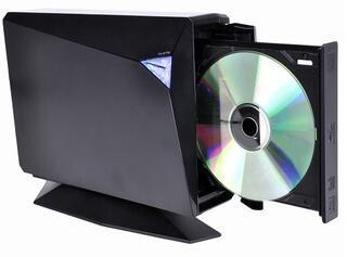 Привод внеш. Blu-Ray Asus (BW-12D1S-U) Black BD-8x/12x DL-8x/8x DVD-16x/12x/16x CD-40x/24x/40x USB3.0